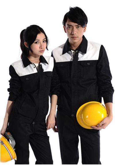 黑白工作服